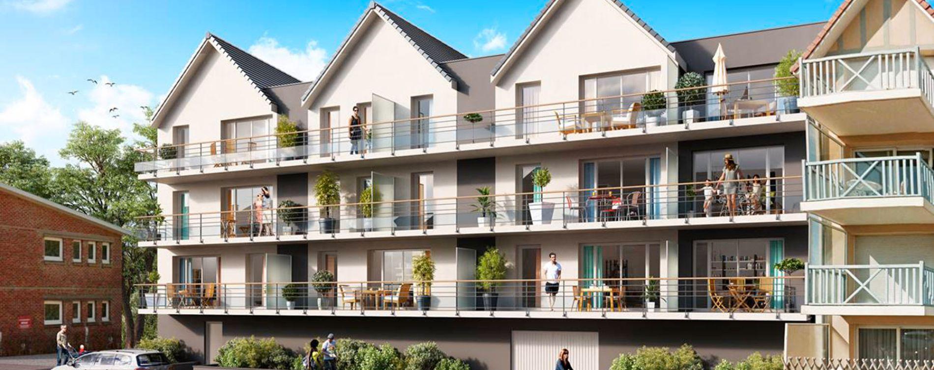 Cucq : programme immobilier neuve « Les Amarres »