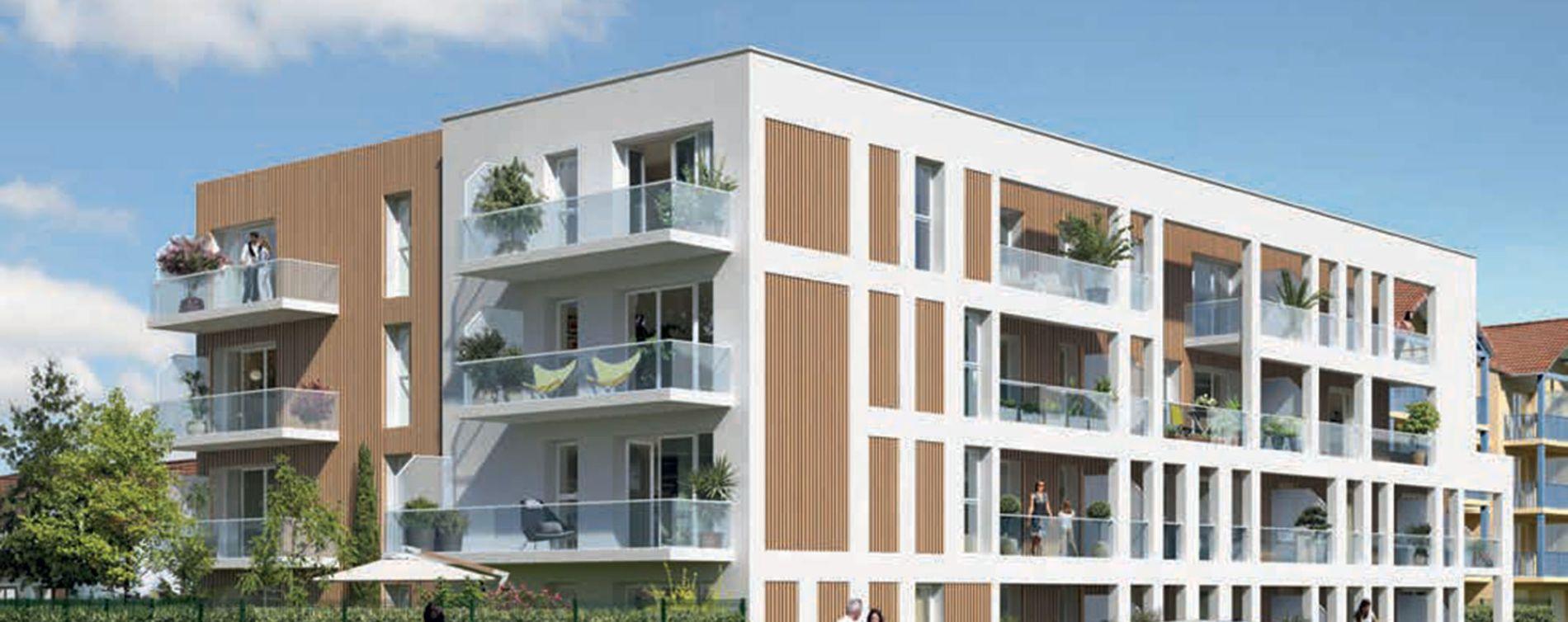 Cucq : programme immobilier neuve « Les Grandes Marées »