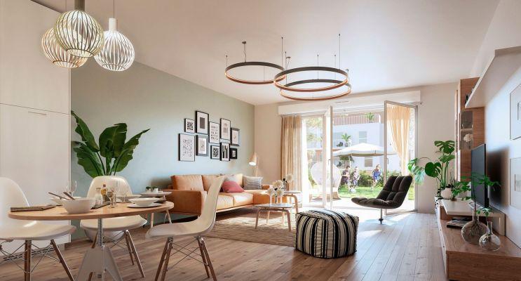 Cucq : programme immobilier neuf « Les Voiles »