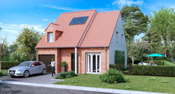 Photo n°3 du Résidence « Le Domaine Des Cerises » programme immobilier neuf à Laventie