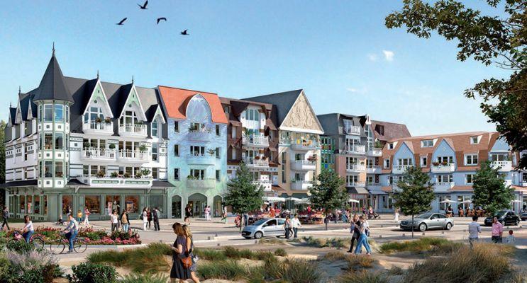 Photo du Résidence « Quentovic » programme immobilier neuf à Le Touquet-Paris-Plage