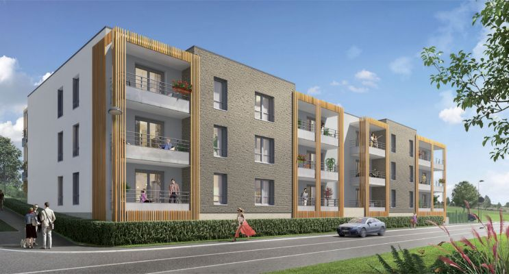 Résidence « Les Jardins De Montgré » programme immobilier neuf en Loi Pinel à Lens n°1