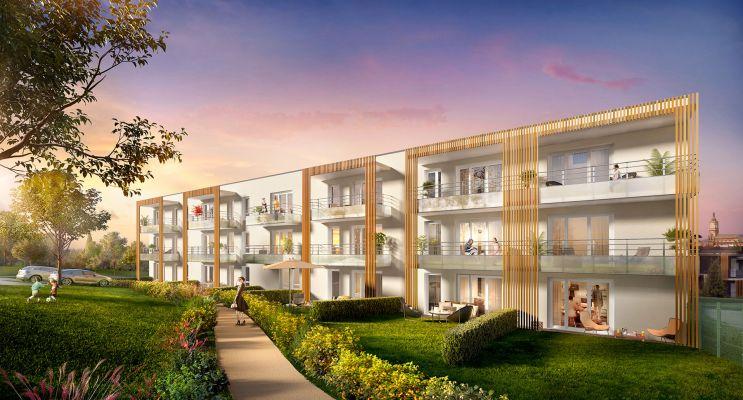 Résidence « Les Terrasses De Montgré » programme immobilier neuf en Loi Pinel à Lens