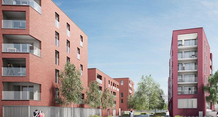 Photo du Résidence « Luminesens 3 Ilôt A » programme immobilier neuf en Loi Pinel à Lens