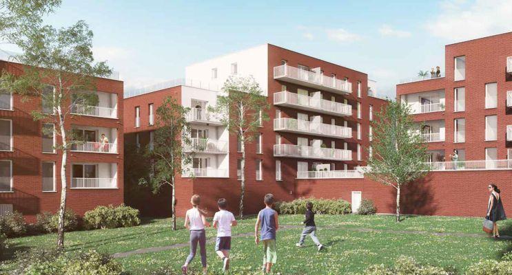 Résidence « Luminesens 4 Balzac » programme immobilier neuf en Loi Pinel à Lens n°3