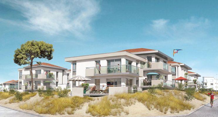 Photo du Résidence « Les Pléiades » programme immobilier neuf à Neufchâtel-Hardelot