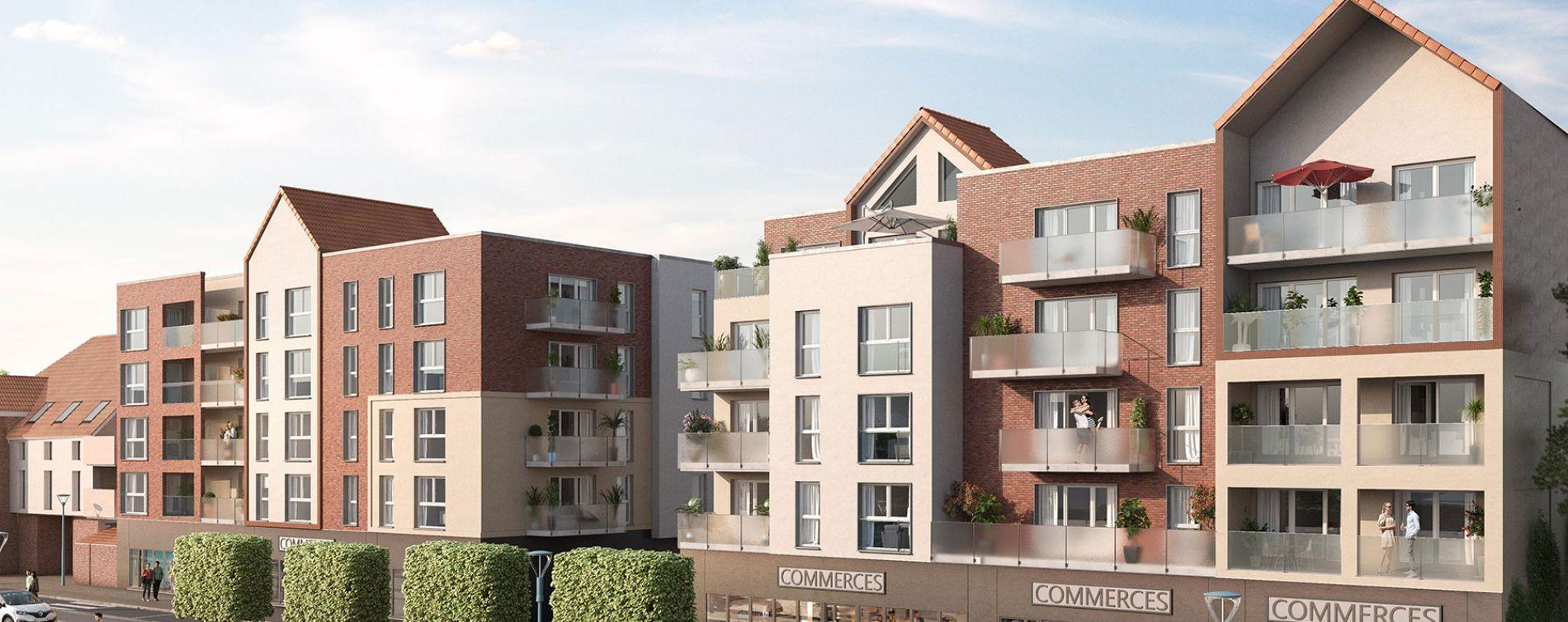 Saint-Laurent-Blangy : programme immobilier neuve « Résidence de la Brayelle » en Loi Pinel