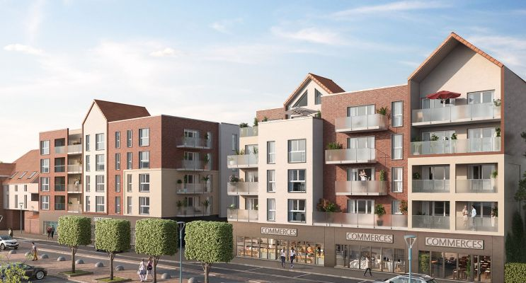 Saint-Laurent-Blangy programme immobilier neuf « Résidence de la Brayelle » en Loi Pinel