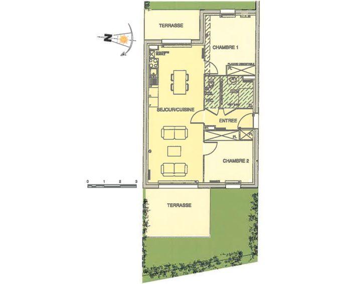 Plan T3 neuf à Wimereux de