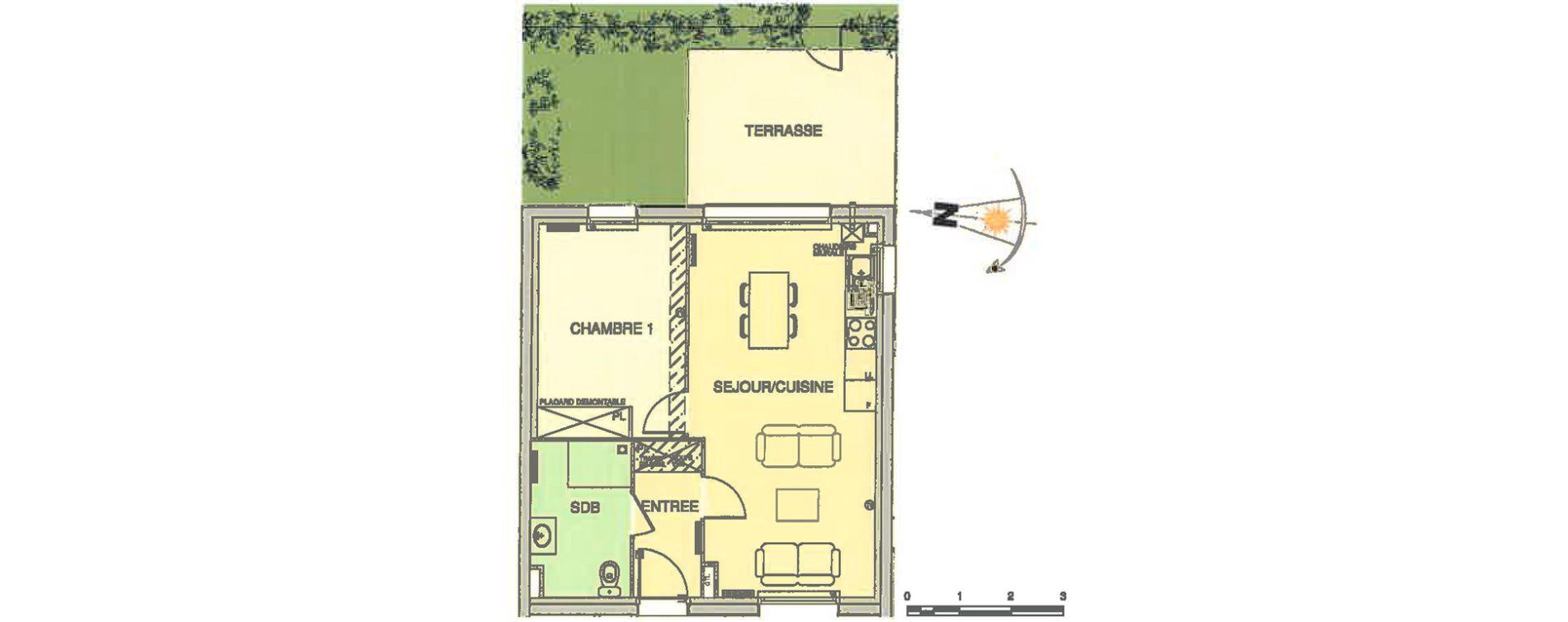 Plan T2 neuf à Wimereux de