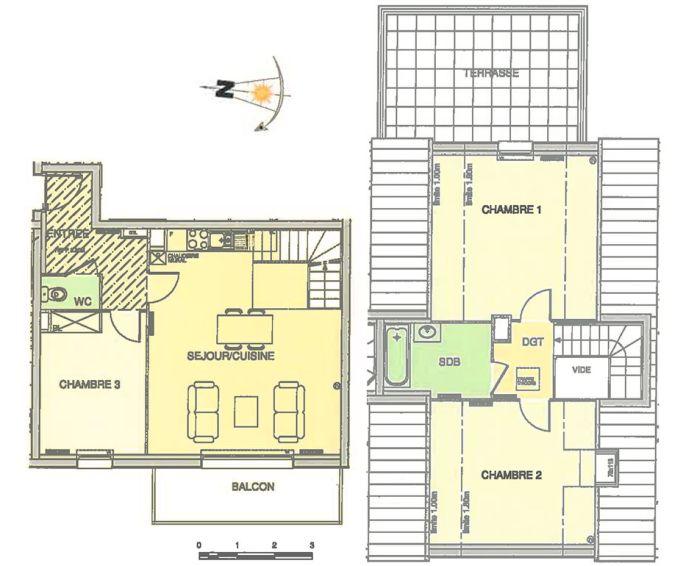 Plan T4 neuf à Wimereux de