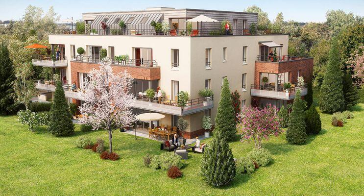 Résidence « Aramis » programme immobilier neuf en Loi Pinel à Amiens