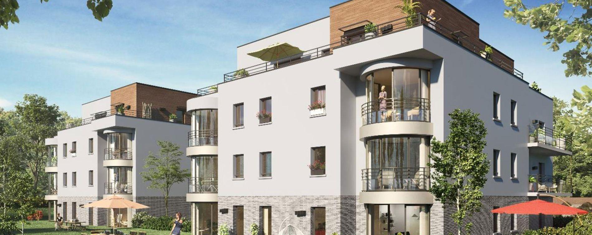 Amiens : programme immobilier neuve « Arborea » en Loi Pinel