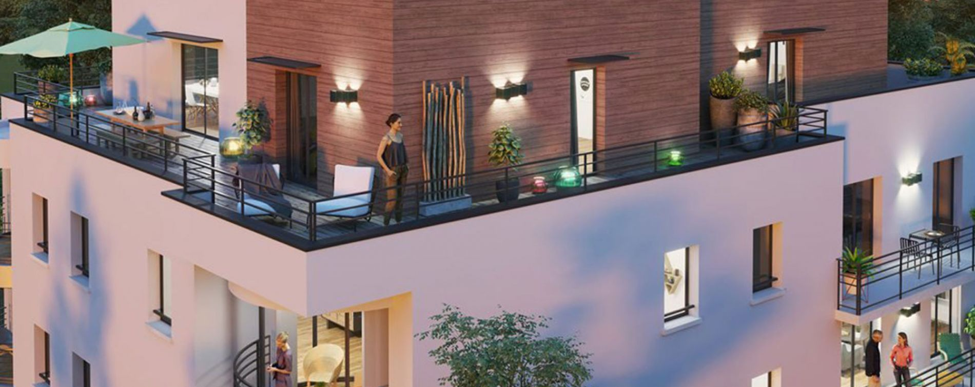 Amiens : programme immobilier neuve « Arborea » en Loi Pinel (2)