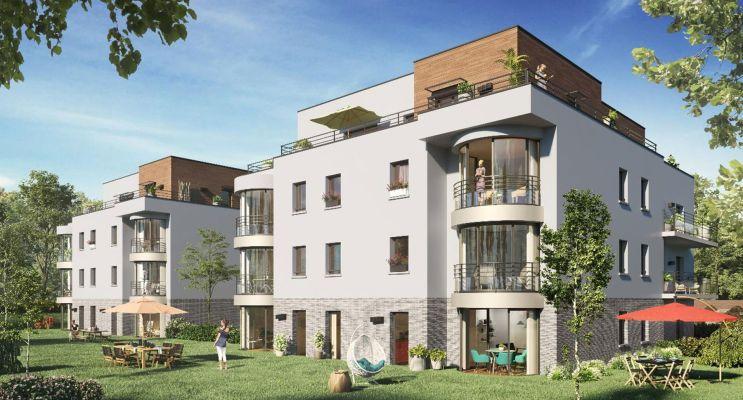 Amiens : programme immobilier neuf « Arborea » en Loi Pinel