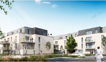 Amiens : programme immobilier neuf « Coeurville » en Loi Pinel