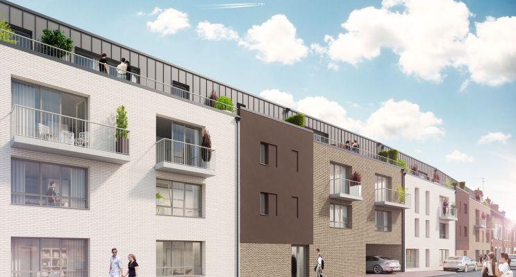 Photo n°2 du Résidence « Coeurville » programme immobilier neuf en Loi Pinel à Amiens