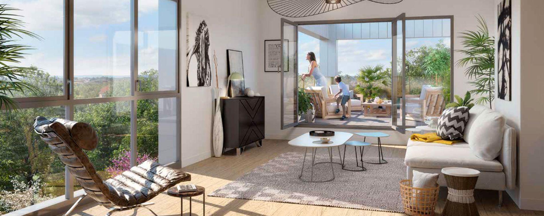 Amiens : programme immobilier neuve « Émergence » en Loi Pinel