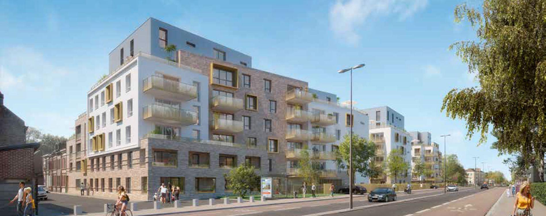 Amiens : programme immobilier neuve « Émergence » en Loi Pinel (2)