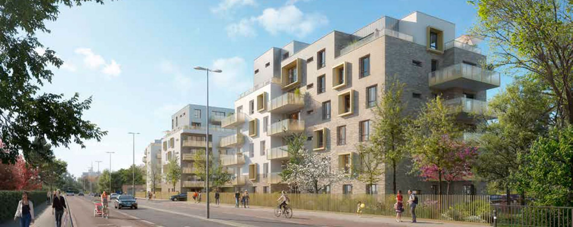 Amiens : programme immobilier neuve « Émergence » en Loi Pinel (3)
