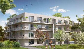 Amiens programme immobilier neuve « Garden District 2 » en Loi Pinel