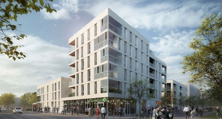 Photo du Résidence « Garden District » programme immobilier neuf en Loi Pinel à Amiens