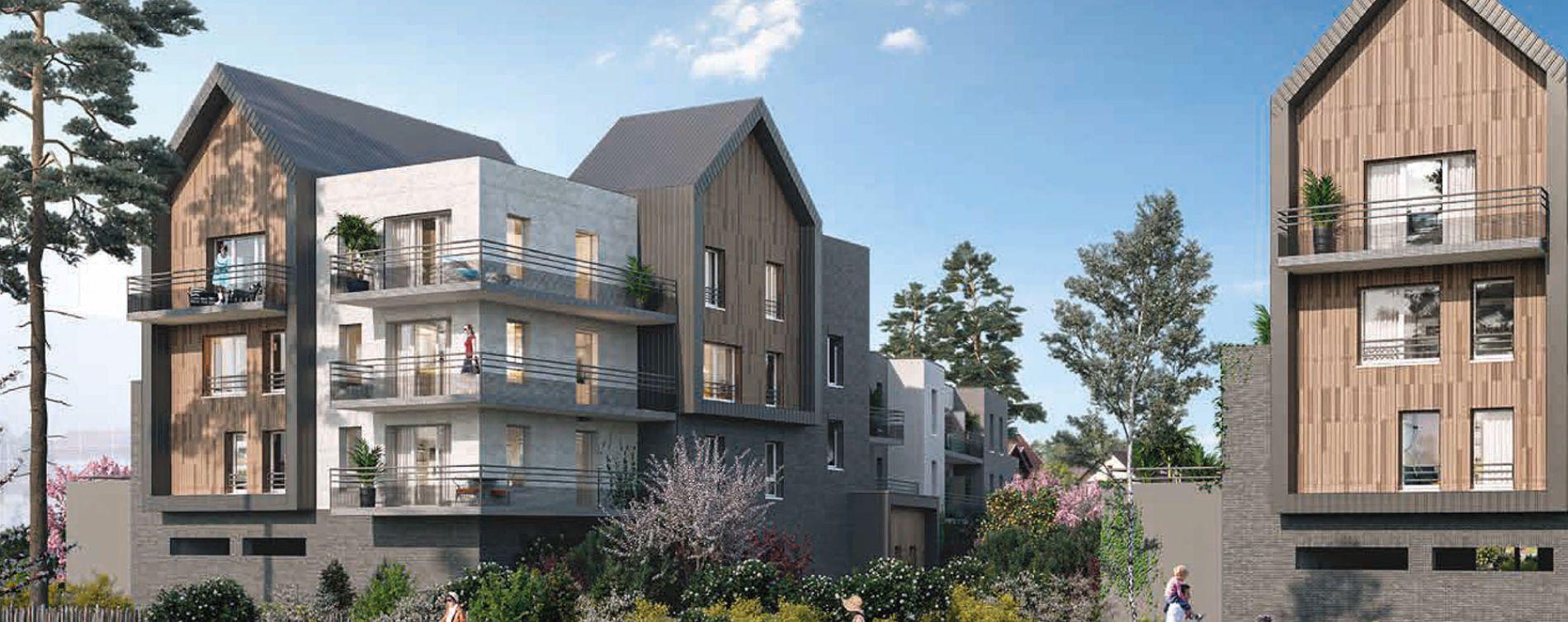 Amiens : programme immobilier neuve « Greenwood »