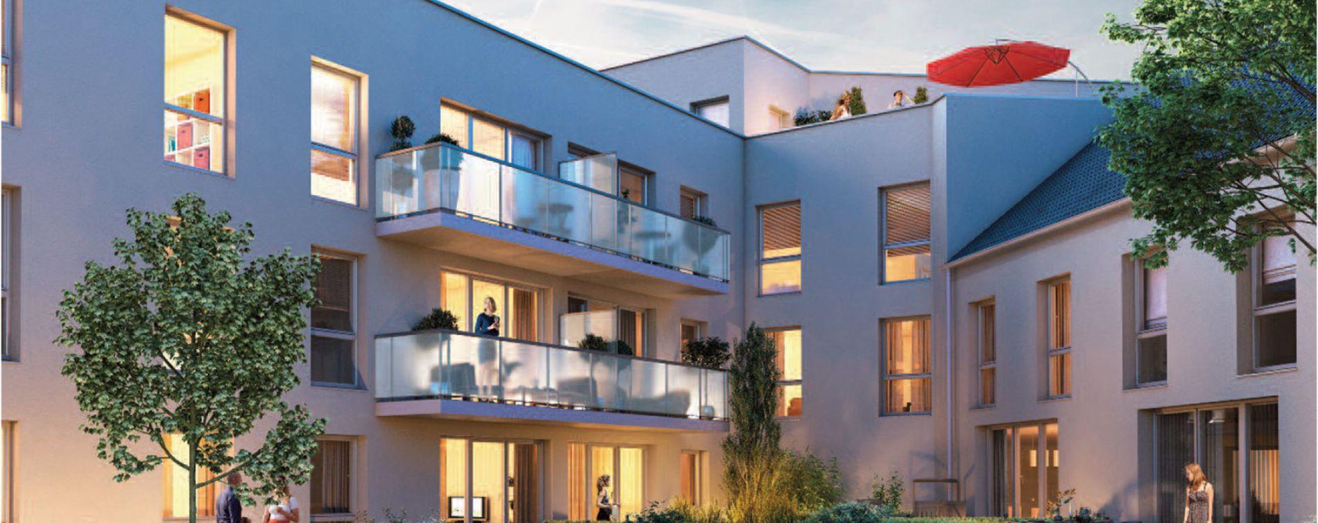 Amiens : programme immobilier neuve « L'Avenue » (2)