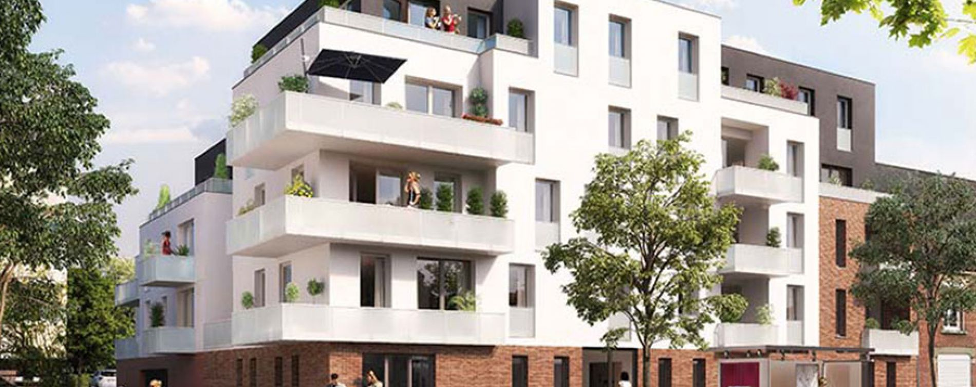 Amiens : programme immobilier neuve « Le 321 St Quentin »
