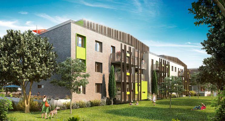 Résidence « Le Carré Des Vignes » programme immobilier neuf en Loi Pinel à Amiens n°1