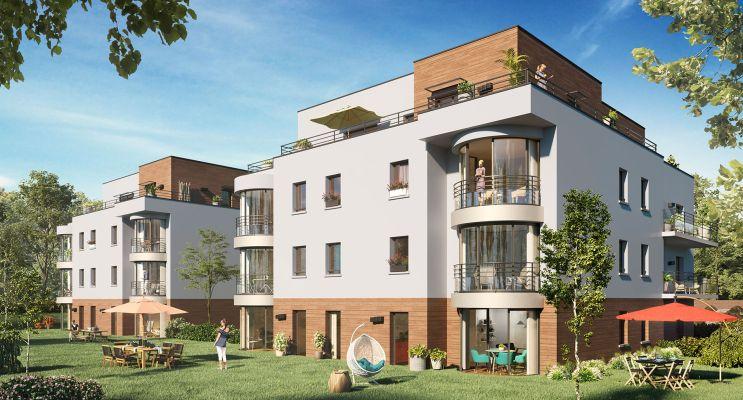 Photo n°1 du Résidence « Le Domaine Privé D'Arboréa » programme immobilier neuf en Loi Pinel à Amiens