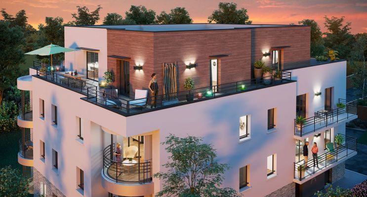 Photo n°2 du Résidence « Le Domaine Privé D'Arboréa » programme immobilier neuf en Loi Pinel à Amiens