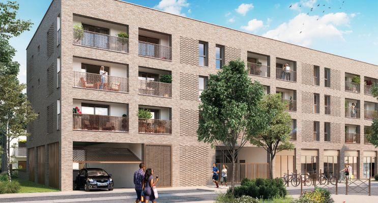 Photo du Résidence « Les Allées d'Ambroise » programme immobilier neuf en Loi Pinel à Amiens