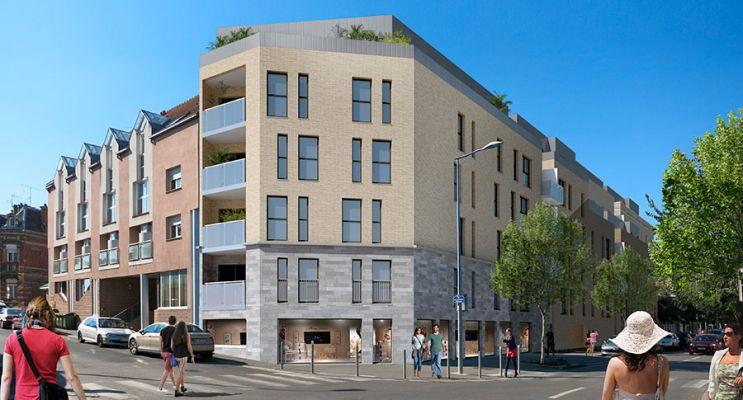 Photo du Résidence « Les Ecuyers – Bâtiments A & B » programme immobilier neuf en Loi Pinel à Amiens
