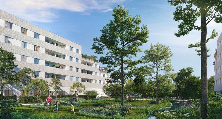 Amiens programme immobilier neuf « Les Jardins d'Arc » en Loi Pinel