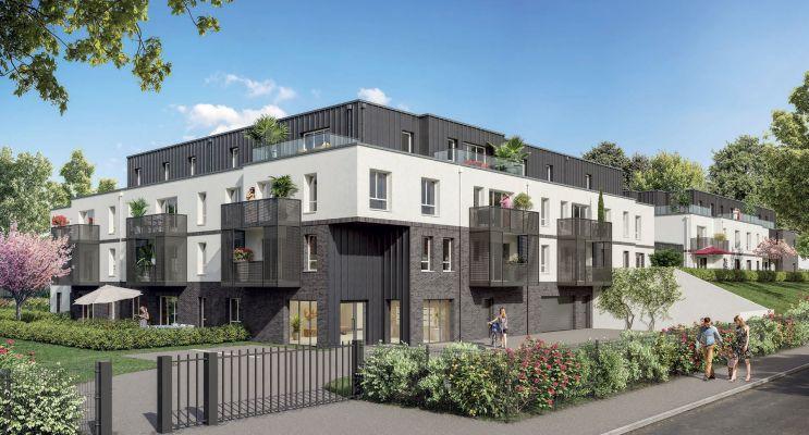 Photo du Résidence « Les Rives Du Bois » programme immobilier neuf en Loi Pinel à Amiens