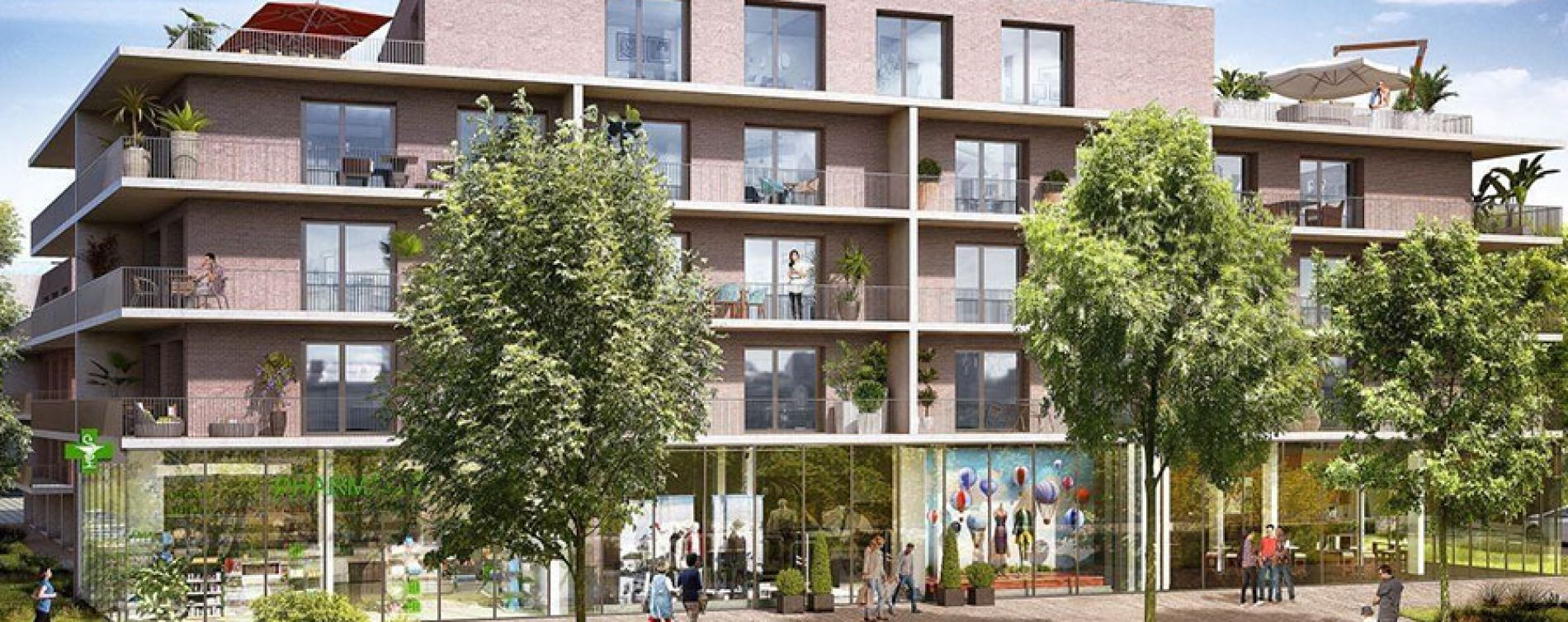 Résidence Les Terrasses de l'Esplanade à Amiens