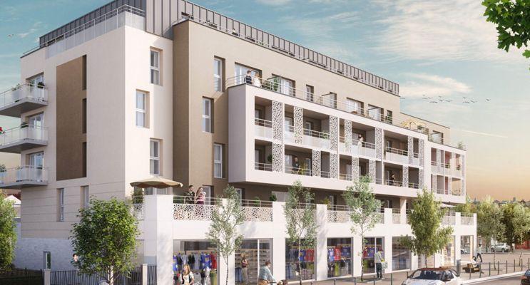 Résidence « Park Avenue » programme immobilier neuf en Loi Pinel à Amiens n°1