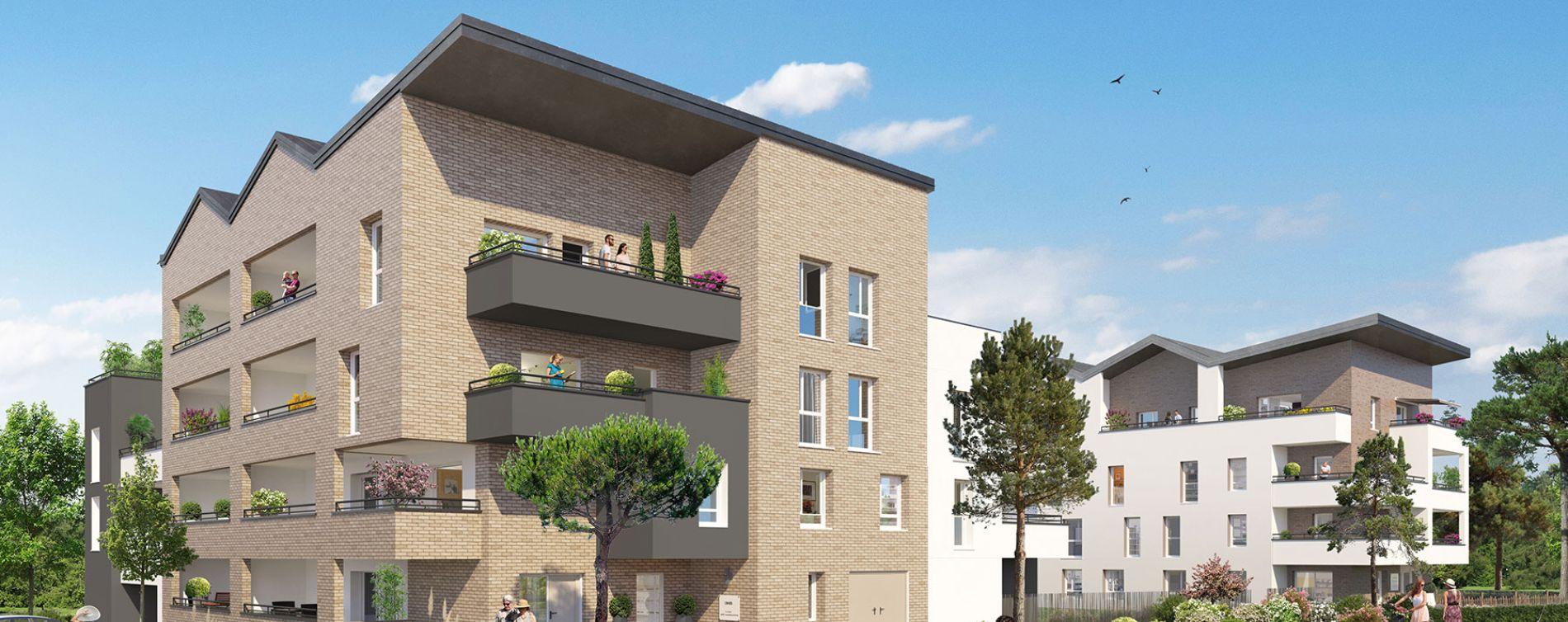 Amiens : programme immobilier neuve « Unick » en Loi Pinel