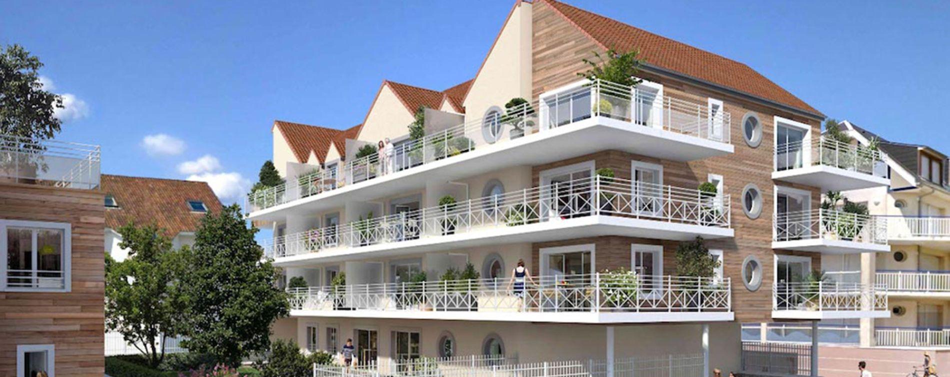 Fort-Mahon-Plage : programme immobilier neuve « Les Oyats »