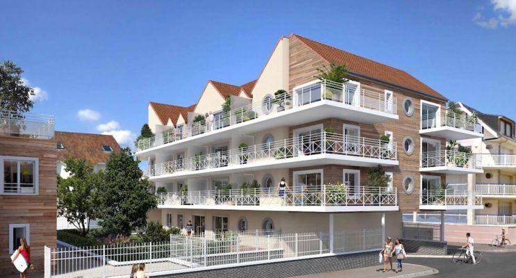 Photo du Résidence « Les Oyats » programme immobilier neuf à Fort-Mahon-Plage