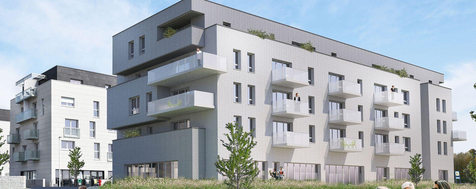 Pont-de-Metz : programme immobilier neuve « Domaine Viridis - Bâtiment A » en Loi Pinel