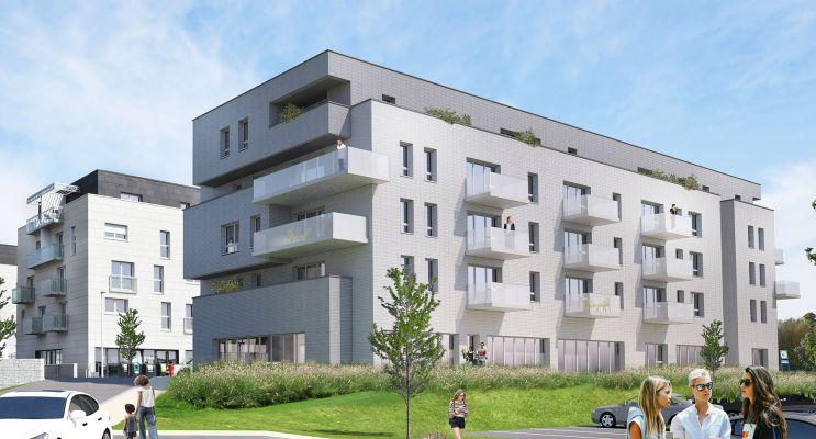 Pont-de-Metz : programme immobilier neuf « Domaine Viridis - Bâtiment A » en Loi Pinel