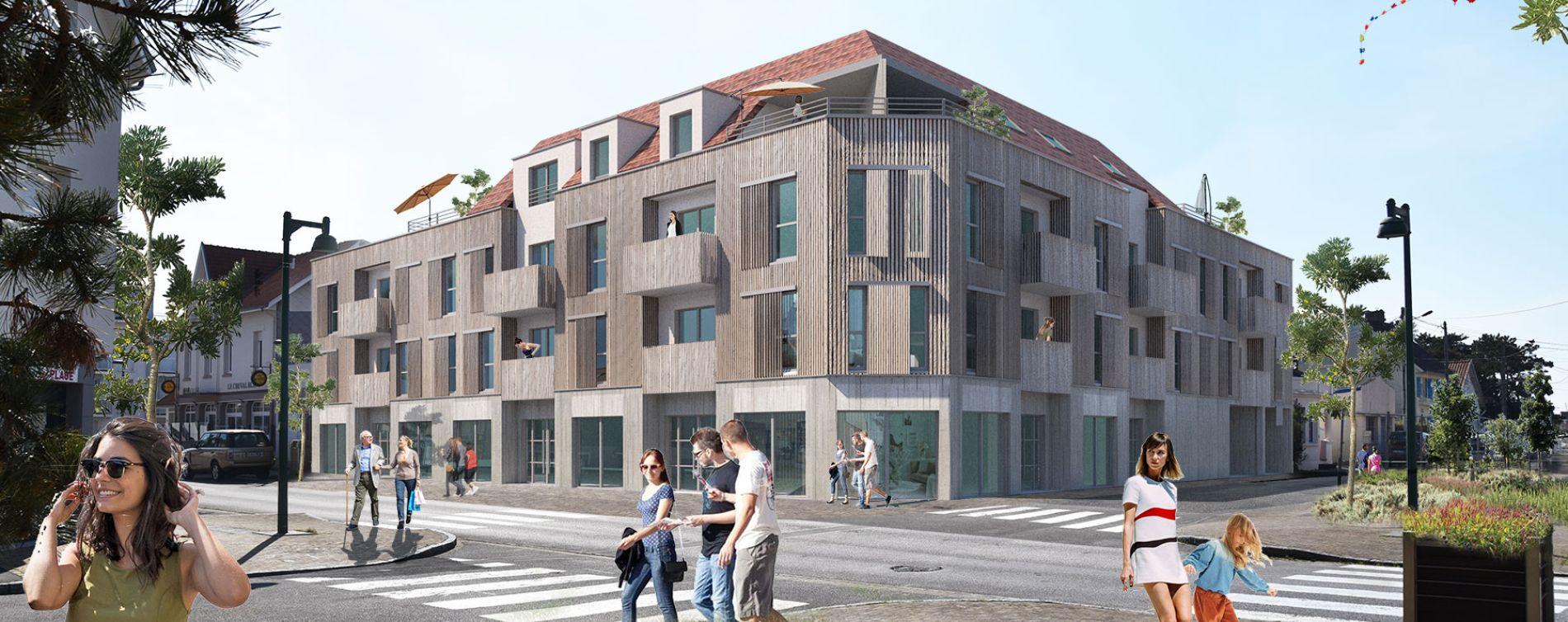 Quend : programme immobilier neuve « Résidence du Bois Flotté »