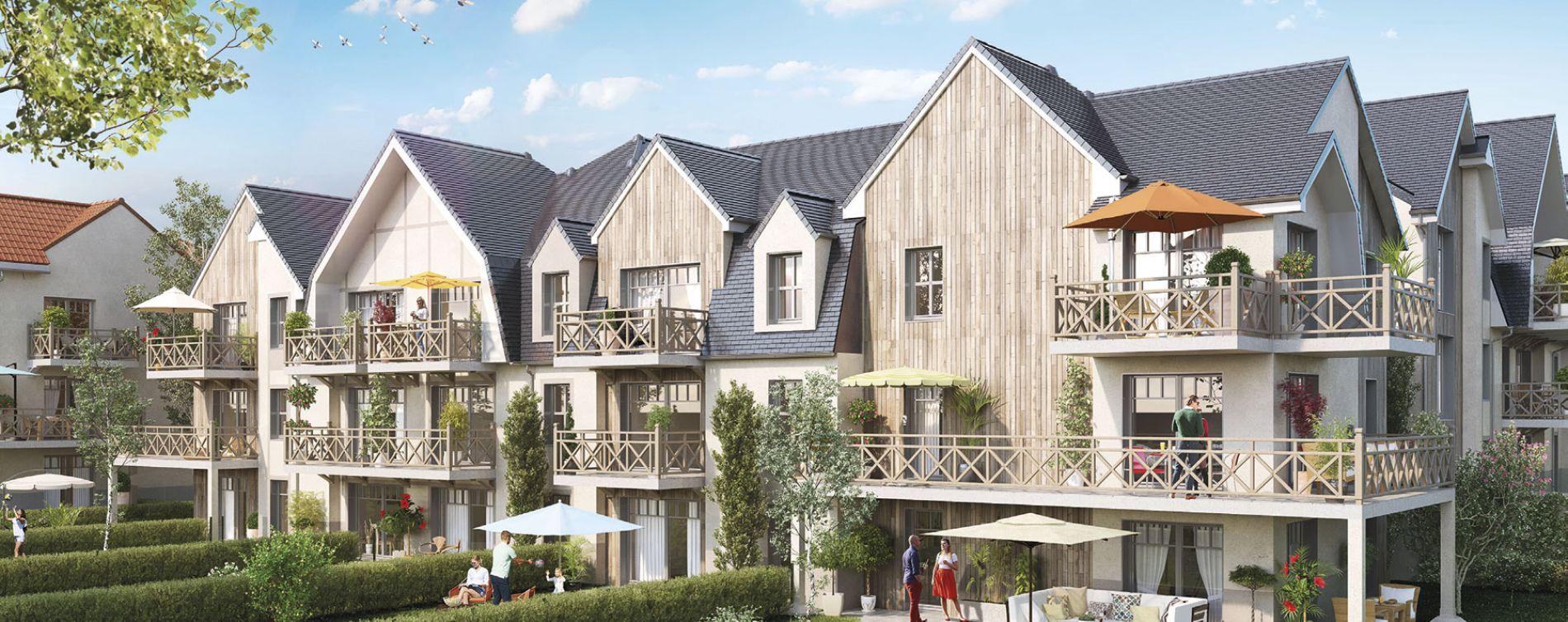 Saigneville : programme immobilier neuve « Les Hauts de St Val »