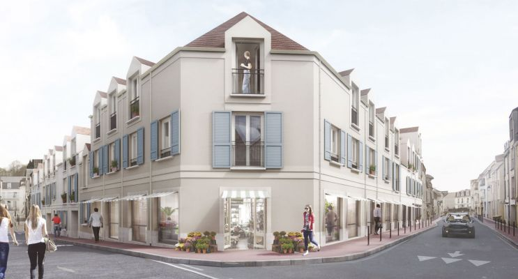 Photo du Résidence « La Belle Cour » programme immobilier neuf en Loi Pinel à Arpajon