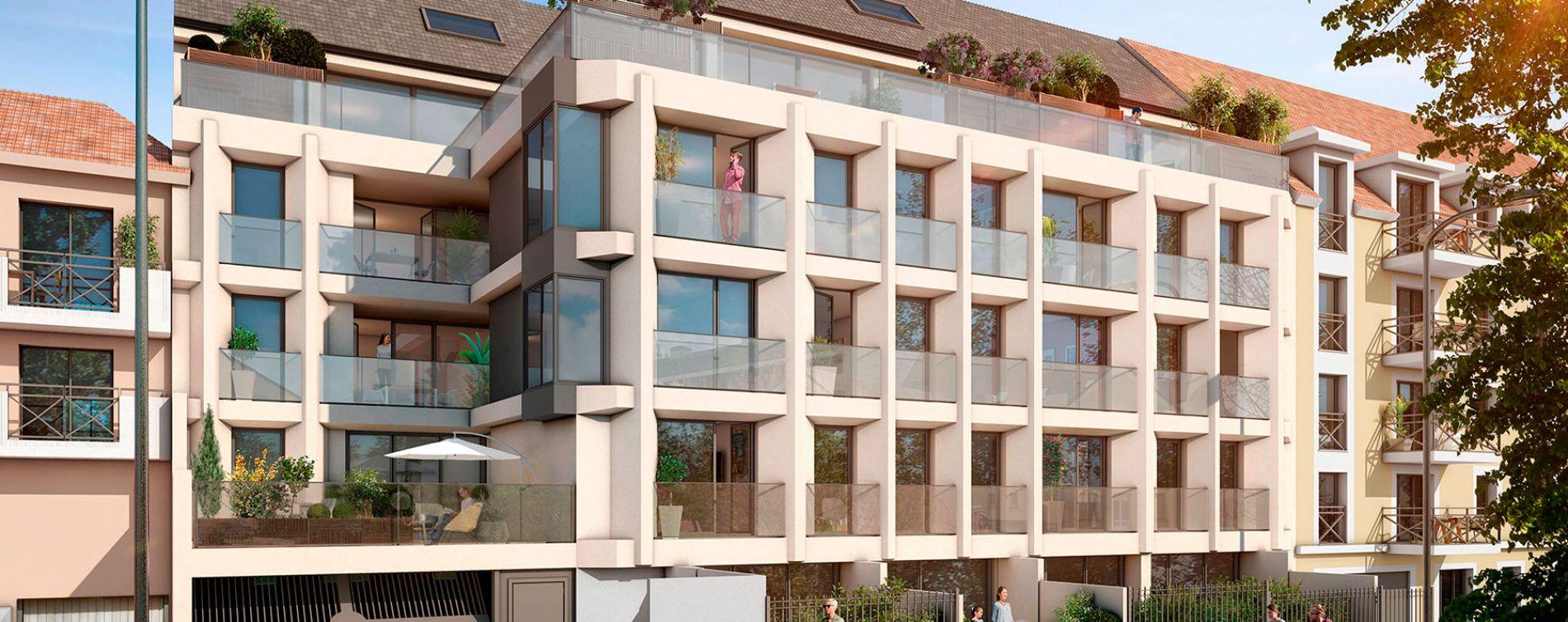 Arpajon : programme immobilier neuve « Le Premium » en Loi Pinel