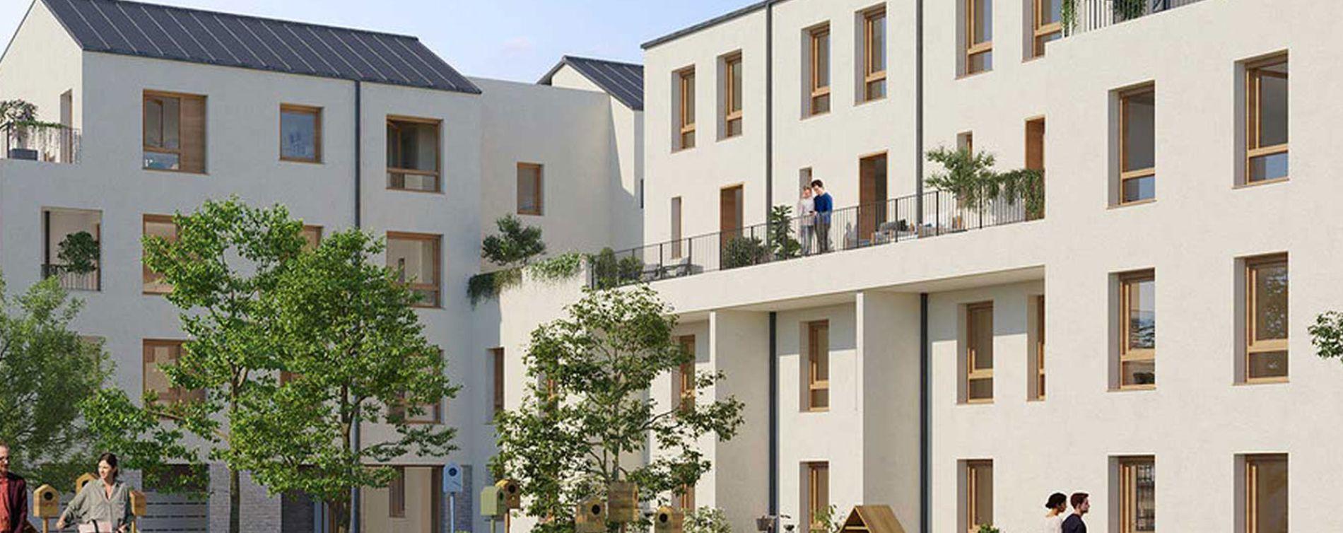 Arpajon : programme immobilier neuve « Resto/Verso »