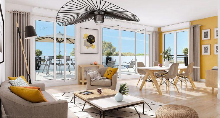 Résidence « Villa Joanna » programme immobilier neuf en Loi Pinel à Athis-Mons n°1