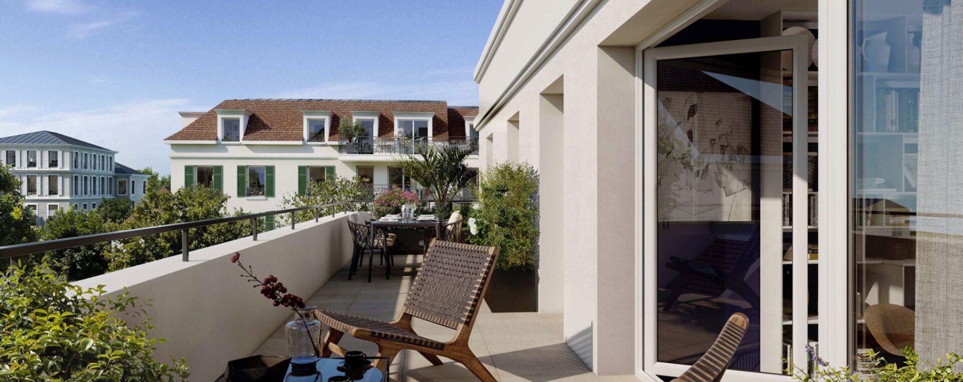 Ballainvilliers : programme immobilier neuve « Programme immobilier n°218630 » en Loi Pinel (2)